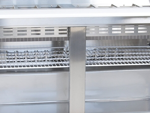 PSTHC Refrigerated Salad Prep Table Phoenix Restaurant - Cold prep table for sale