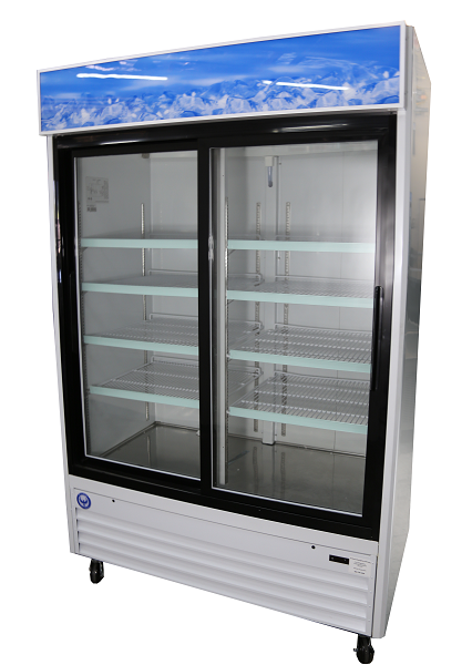 Sliding Door Commercial Cooler