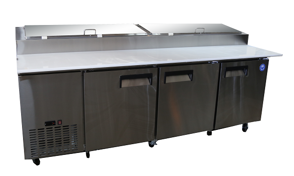 "92"" Refrigerated Prep Table"
