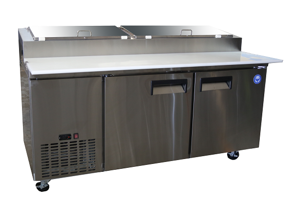 PPT71-HC 71″ Pizza Prep Table Two Door Refrigerated | Phoenix ...