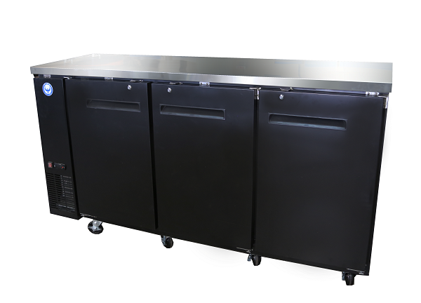 "72"" Back Bar Cooler"