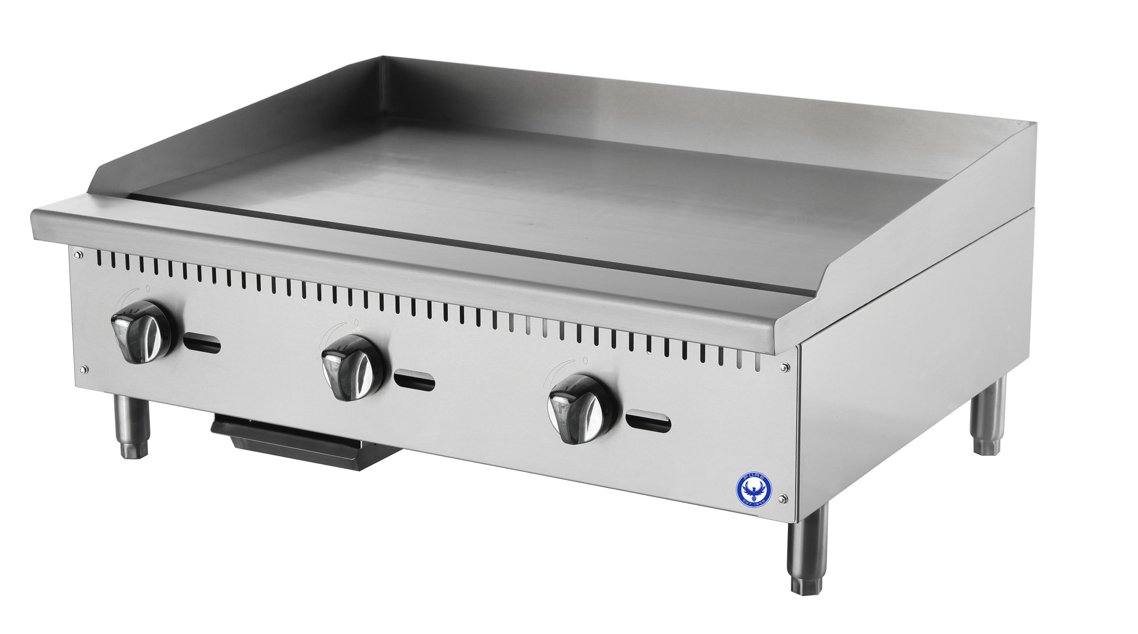 PUREFG-36P 36″ Commercial Flat Top Grill Countertop Griddle (LP ...
