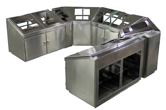 Custom Commercial Kitchen Stainless Steel Cabinets Phoenix Restaurant Equipment
