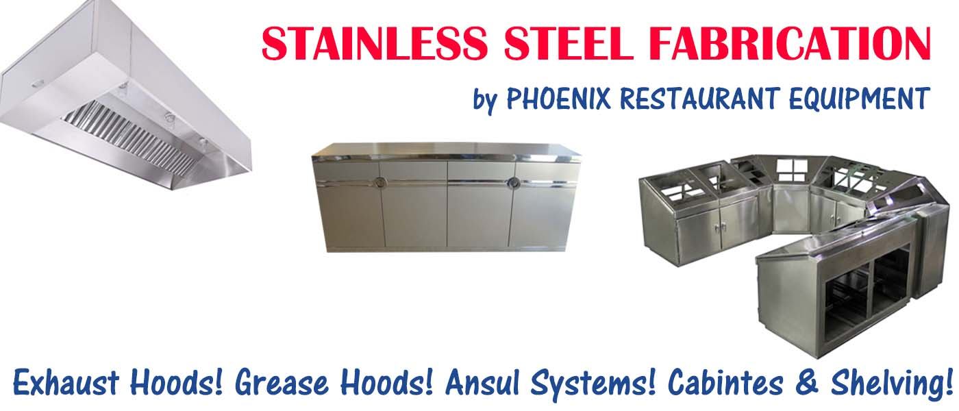 Custom Exhaust Hoods & Stainless Steel Fabrication | Phoenix ...