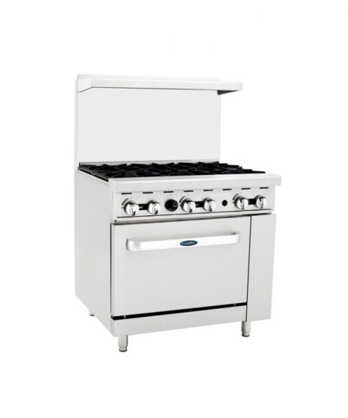 36 in 6 burner gas restaurant oven
