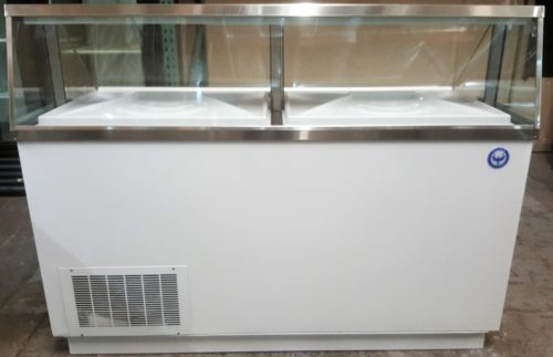 66 inch 12 Bin Ice Cream Dipping Cabinet
