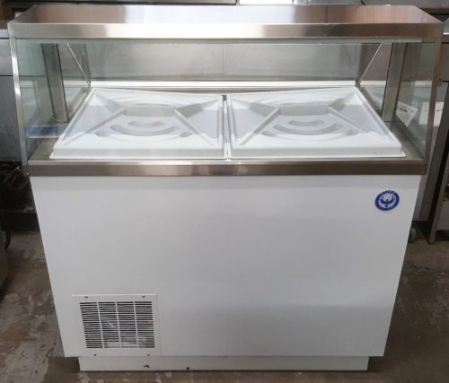 "47"" Ice Cream Dipping Cabinet Freezer"